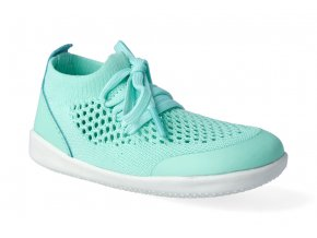 barefoot capacky bobux xplorer play knit trainer peppermint 7