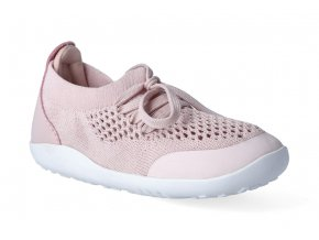 barefoot tenisky bobux play knit trainer seashell 3