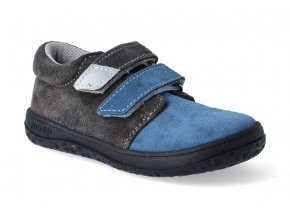barefoot tenisky jonap b1 modra seda 3