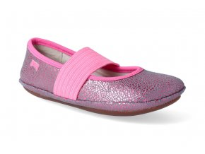 baleriny camper right kids sella shiny pink 3