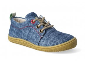 barefoot tenisky filii soft way bio jeans m 2