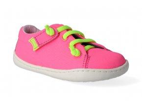 barefoot tenisky camper peu cami firstwalkers pink 1