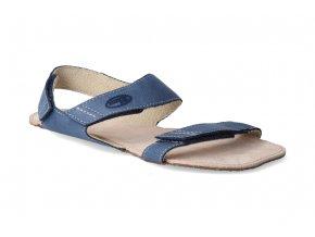 barefoot sandaly orto bora modre 3