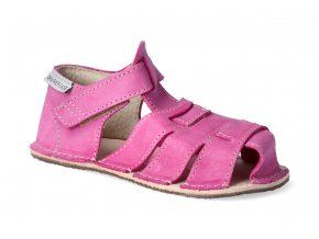 barefoot sandalky orto palm fuchsiove 2