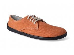 barefoot tenisky BeLenka city tangerine 2