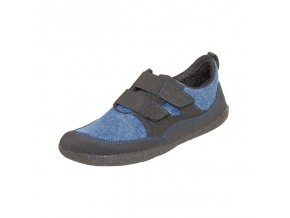 Barefoot tenisky Sole Runner - Puck blue/black