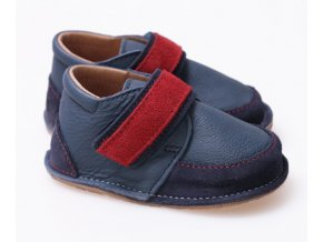 Tikki Boots - Red Navy