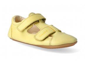 barefoot sandalky froddo prewalkers yellow 2