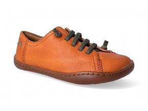 barefoot tenisky camper peu cami sella orange 2