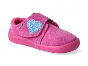 barefoot tenisky beda blue heart jeden suchy zip 2