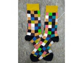 barevne ponozky kostka
