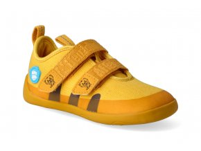 barefoot tenisky affenzahn cotton sneaker tiger yellow 3