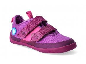 barefoot tenisky affenzahn cotton sneaker bird berry 2
