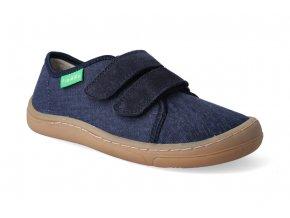 barefoot tenisky froddo bf platene dark blue 2