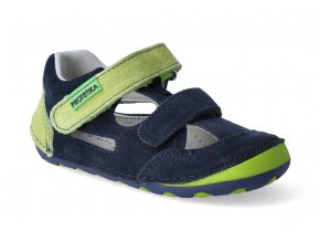 barefoot sandalky protetika flip denim 3