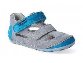barefoot sandalky protetika flip tyrkys 2