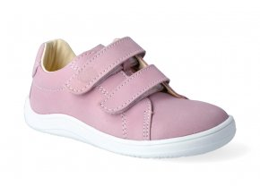barefoot tenisky baby bare febo spring pink 3