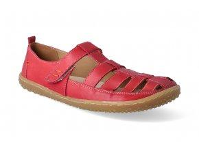 barefoot sandaly okbarefoot juan red 2