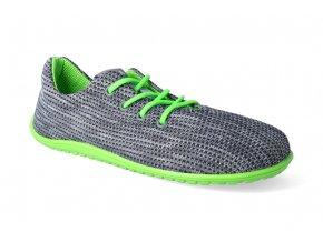 barefoot tenisky beda lime adult vegan 2