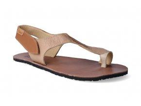 barefoot sandaly tikki shoes soul caramel 3