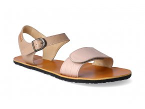 barefoot sandaly tikki shoes vibe nude cappuccino 2