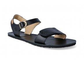 barefoot sandaly tikki shoes vibe infinity black 3