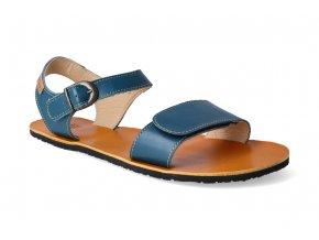 barefoot sandaly tikki shoes vibe petrol blue 3