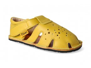 barefoot sandalky tikki shoes aranya lemon 2