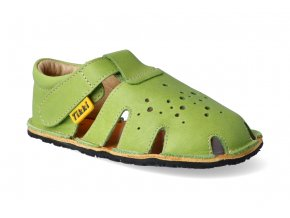 barefoot sandalky tikki shoes aranya lime 3