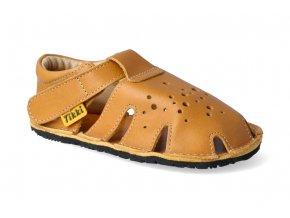 barefoot sandalky tikki shoes aranya mustard 3