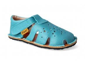 barefoot sandalky tikki shoes aranya turquise 2