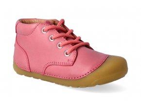 barefoot kotnikova obuv bundgaard petit lace soft rose 2