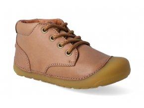 barefoot kotnikova obuv bundgaard petit lace caramel 3
