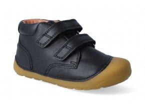 barefoot kotnikova obuv bundgaard petit velcro black 2