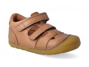 barefoot sandaly bundgaard petit sandal caramel 3