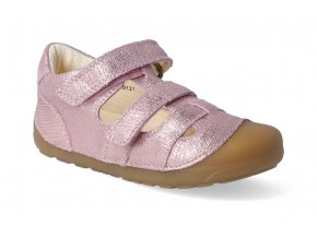 barefoot sandaly bundgaard petit sandal pink grille 2 2