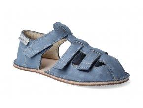 barefoot sandalky orto maya modre 2