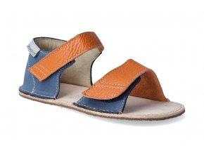barefoot sandalky orto mirrisa oranzovo modre 3