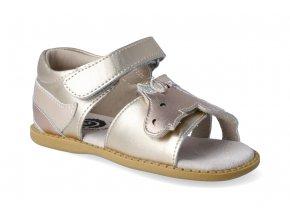 sandalky livie and luca unicorn gold metallic 2