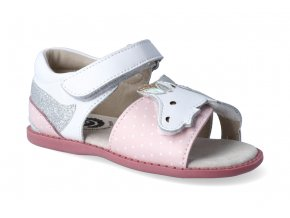 sandalky livie and luca unicorn bright white 3