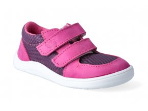 barefoot tenisky baby bare febo sneakers fuchsia purple 3