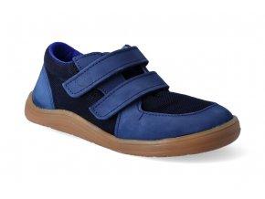 barefoot tenisky baby bare febo sneakers navy resina 2