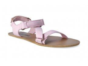 barefoot sandaly be lenka flexi pink 2