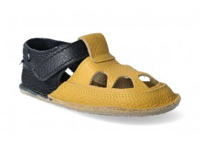 barefoot sandalky baby bare io ananas letni 3