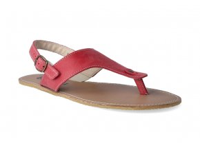 barefoot sandaly be lenka promenade red 2