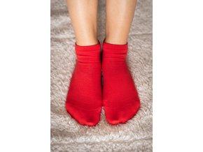 barefoot ponozky kratke cervene 2082 size large v 1