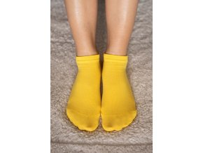 barefoot ponozky kratke zlte 2087 size large v 1