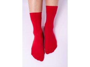 2222 1 barefoot ponozky cervene size large v 1