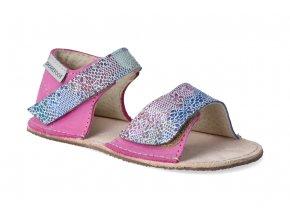 barefoot sandalky okbarefoot mirrisa ruzove hadi 2