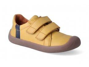 barefoot tenisky bundgaard walker mustard 3